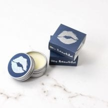 RD080 RD Lip Balm - Hey Beautiful Blue_Silver